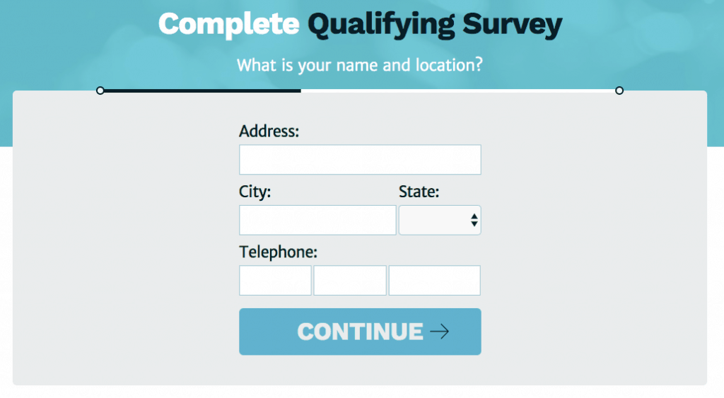 give address survey voices