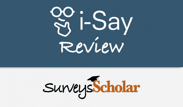 ipsos i-say review