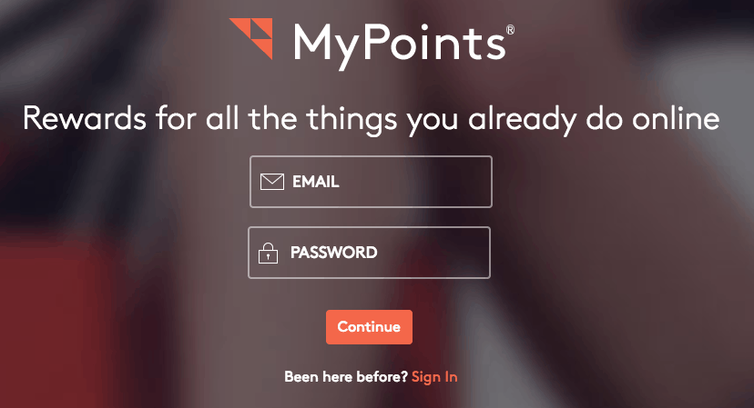 sign up mypoints